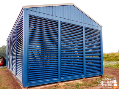 Storage facility built by Brecknock Builders