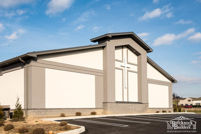 Church addition built by Brecknock Builders
