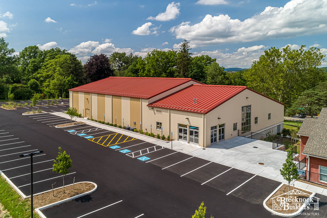 Connections Church built with Pre-engineered Steel by Brecknock Builders