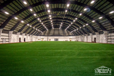 Pocono Dome Sports Facility built by Brecknock Builders